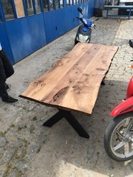American Live Edge Wood Table