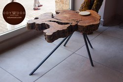 "Olive Wood ""Mercan"" Coffee Table"