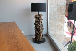 Mistik Ivy Wood Floor Lamp No:2