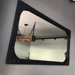 Conca Industrial Style Metal Mirror