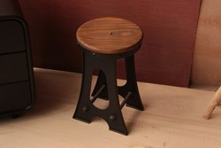 Bridge Industrial Stool