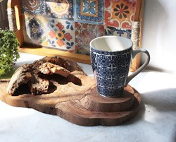 Olive Wood Chopping Board and Coaster - 10 pcs