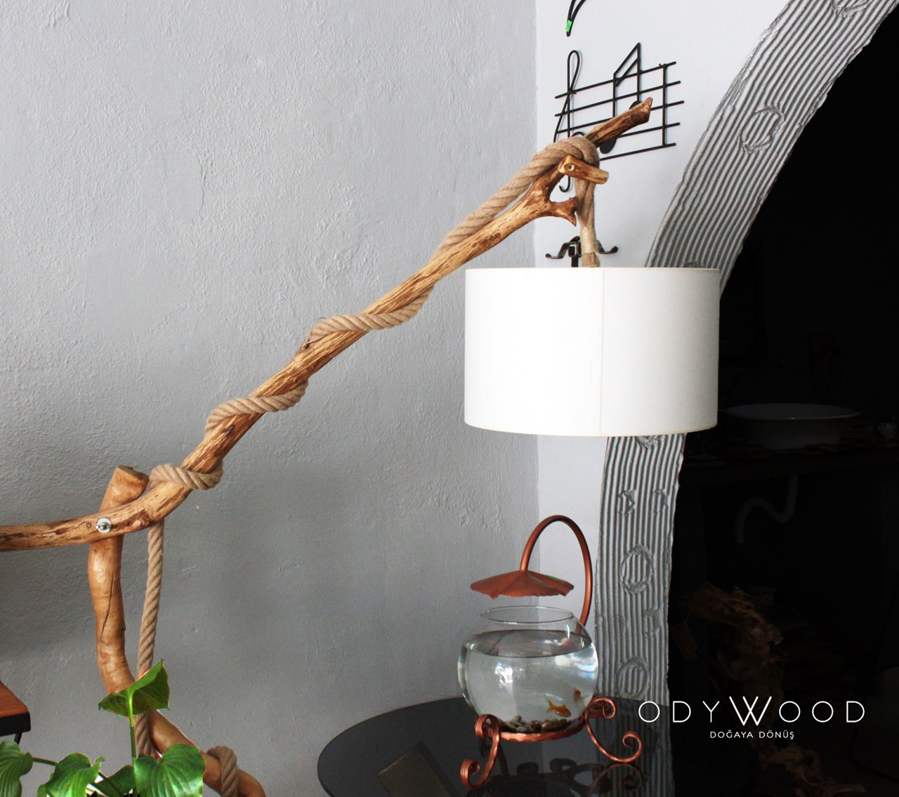 Istanbul Lamp - Natural Branches'in resmi