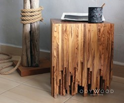 Falling Coffee Table - Olive Wood