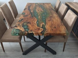 Ocean Resin Dining Table