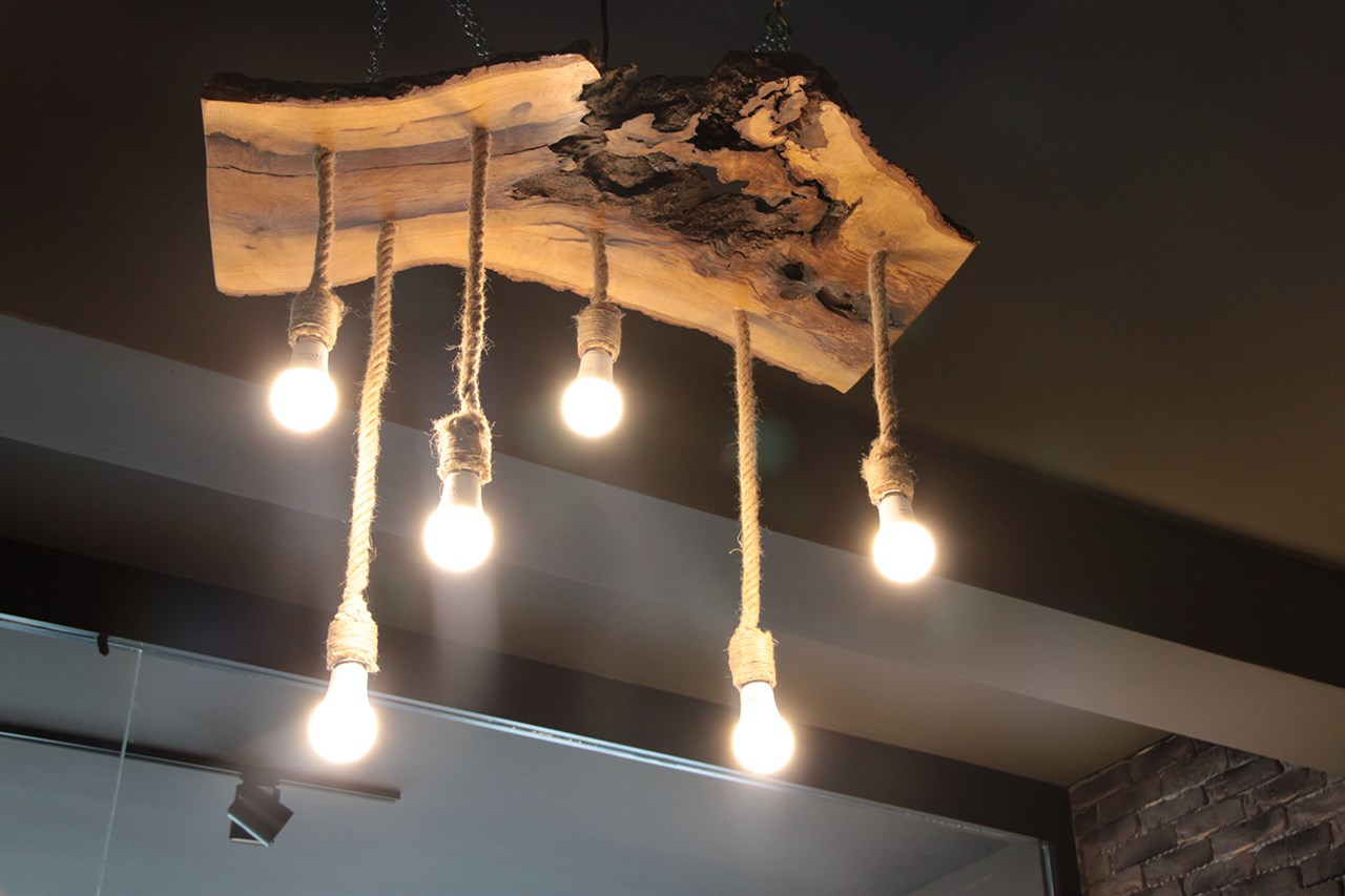 Mouns Wood Chandelier No:2'in resmi