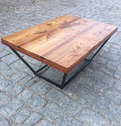 Ilines Natural Wood Coffee Table
